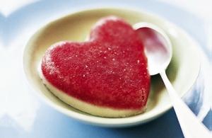Iced Strawberry Hearts